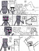 There Goes the Neighborhood: a minecraft comic by shieldsink