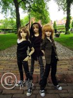 Three of a kind by Lavandula-BJD