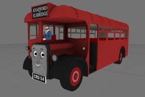 Bertie the bus by bonjourmonami