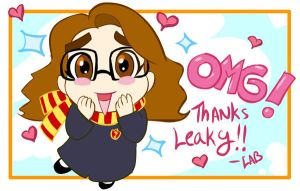 OMG THANKS - HP by lberghol