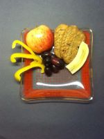 Fruit and blueberry crackers by kaitlynnasslebell