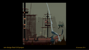 Oldies art for video game cataball 06 by K-hermann
