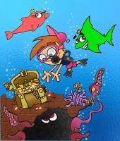fairly odd ocean by iloveyoustitch