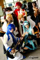 Vocaloid Shoot by ahh-pat