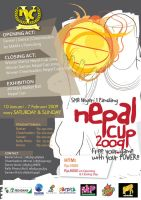 Nepal Cup 2009 Poster by dancing-doll