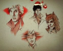 so different Sherlock :) by ymymy