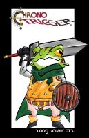 Chrono trigger Frog by Exeivier