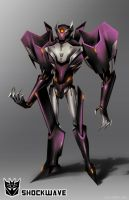 Transformers Prime: Shockwave by dou-hong