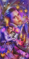 Claire Holt and Dylan O'Brien by by-Oblomskaya