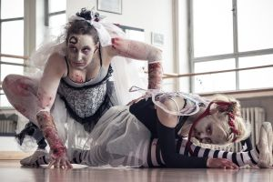 Ballet meets Zombies: Close to the Ground by SeelederSchar