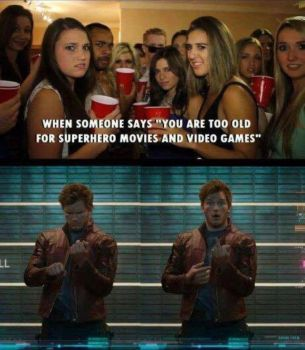 Starlord telling like it is by HumanTorch223