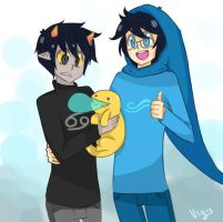 homestuck: happy family by uig