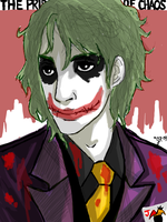 Joker by GiselleRocks