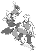 KIRIBAN- Riku VS Kento by SethKyo