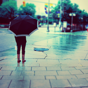 la pluie. by xcandycontainer