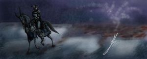 Monster of the Nightfall by TheMonsterChick
