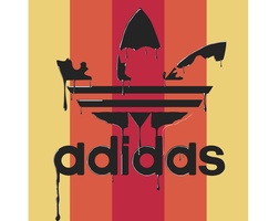 Adidas oiled concept by GDZDA