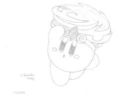 Tornado Kirby - drawn by water-kirby