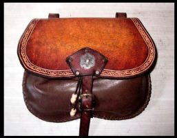 Historical belt bag cul-de-vilain by akinra-workshop