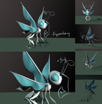 Robot Butterfly by Crysenley