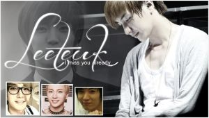 Leeteuk Wallpaper by ForeverK-PoPFan
