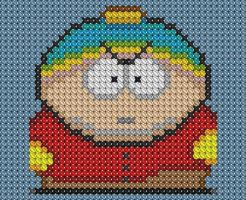 Cartman Cross Stitch 2 by drsparc
