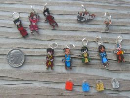 Teeny Avatar Charms by aureath