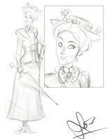 Mary Poppins by vimfuego