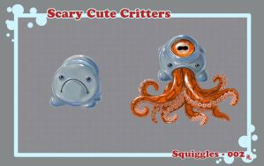 :SCARY CUTE CRITTERS 002: by UsagiSasami