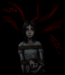 Alice... What have you done...? by Zastie