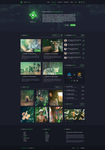 Clan Gaming Web Design - For Sale by iEimiz