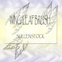 Wing-Leaf Brush by sullenstock