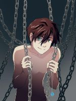 Sean with chains by skimlines