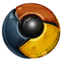 Worn Chrome icon by Treelz