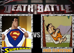 Death Battle: Superman vs Fred Flintstone by ToonEGuy