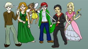 Ather Characters by Natnie