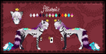 Alistair- reference sheet by LiaBorderCollie