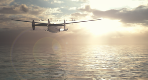 Boeing 314 Clipper take off by Remy31460