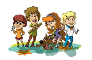 Mystery Inc. by BeckyRose