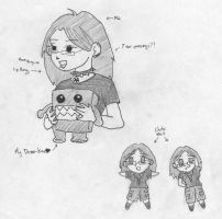 Me Chibi and My Domo by cactuarZrule