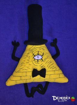 Bill Cipher Plush by DemodexPlush