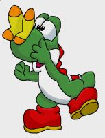 Green Yoshi: Spring is here by Cadders
