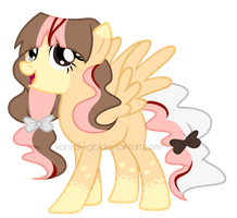 :|Custom|: Female Pegasus - Chesiire-Strawberii by XantaL-XGB