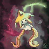 Jirachi Speedpaint by URW