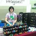 Otakon 2015 Table Display by HowManyDragons