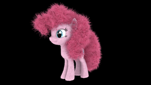 My Little Fluffies - PinkiePie OLD by VeryOldBrony