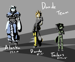 Dande team. by dlrowdog