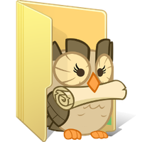Owlicious Folder by FelidaeSilvestris
