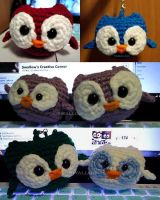 more Owlies by swallowtt