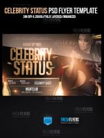 Celebrity Status Party Flyer Template by ImperialFlyers